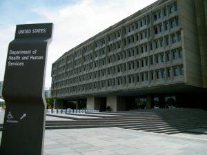 HHS building in Washington, D.C.
