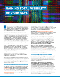 FedScoop report on total visibility of data