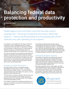 FedScoop report on federal data protection