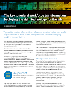 FedScoop report on government technology workforce