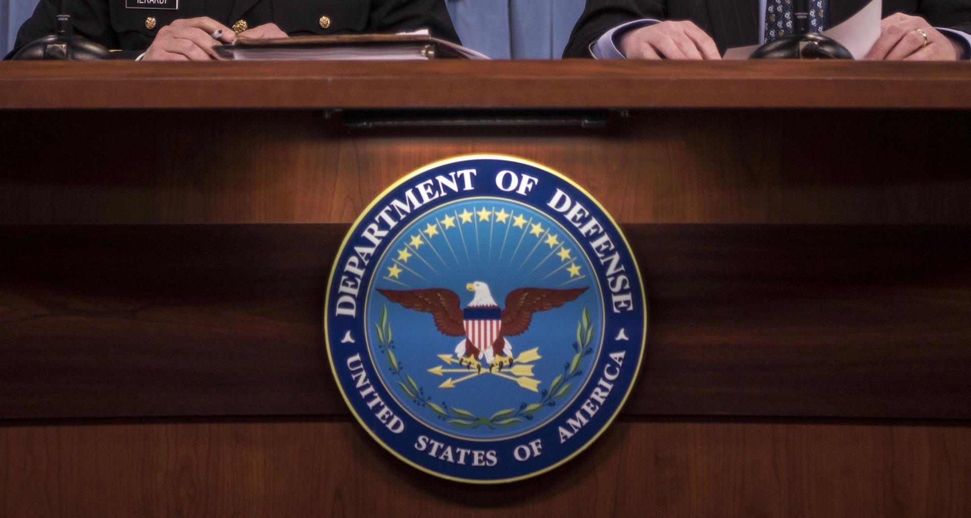 Department of Defense, DOD, Pentagon