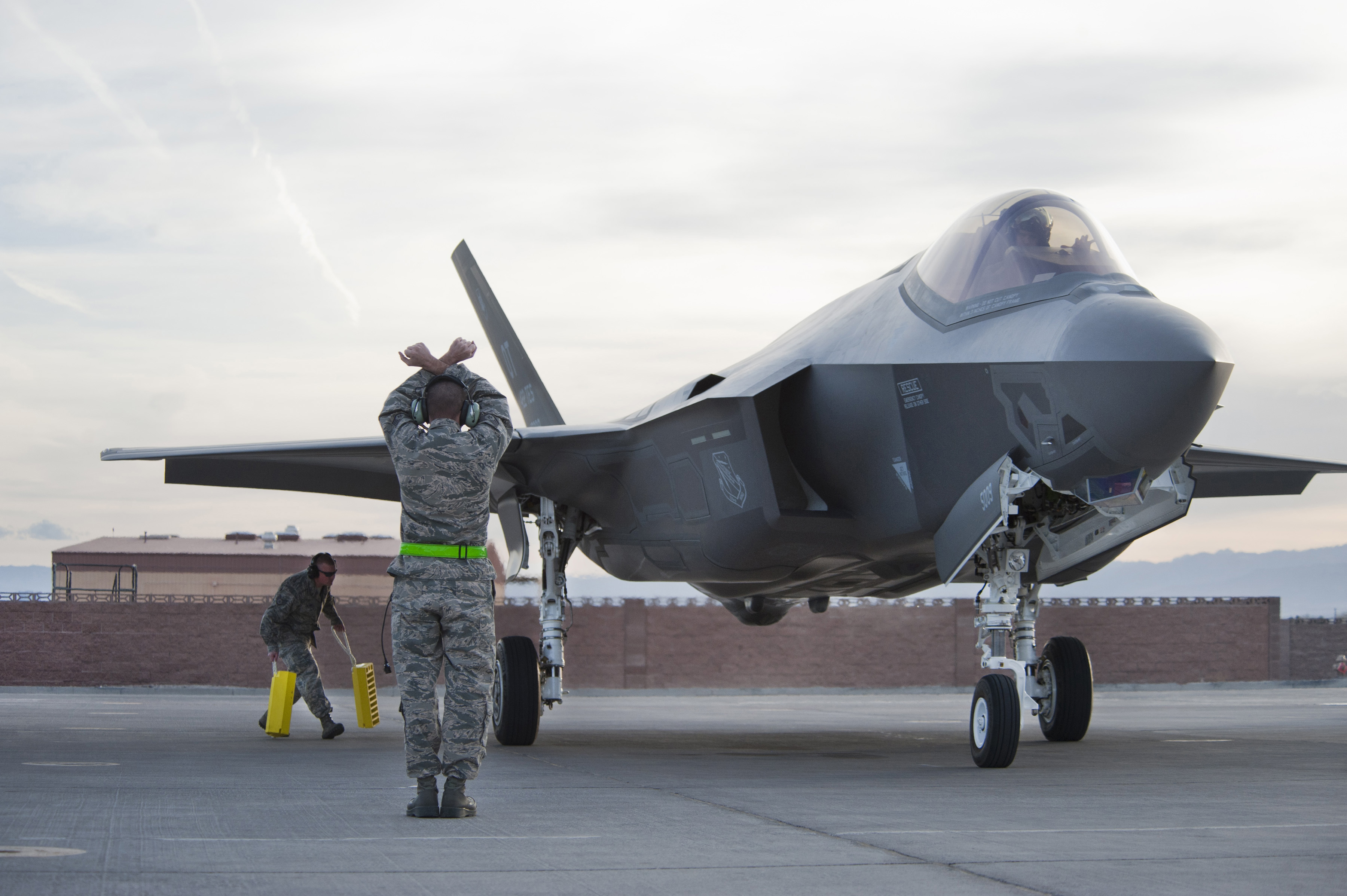Air Force, F-35 Lightning II Arrival