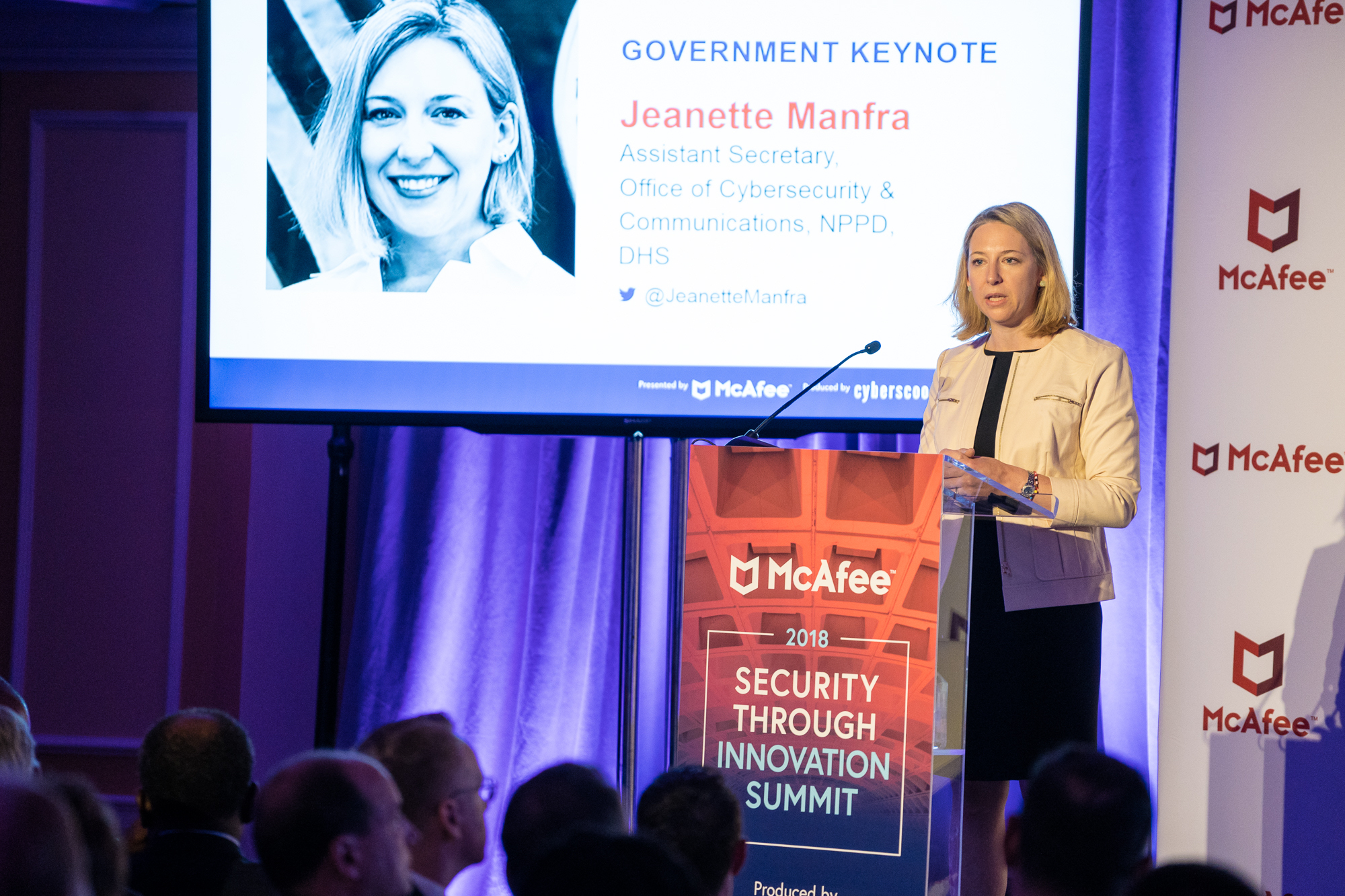 Jeanette Manfra, Department of Homeland Security