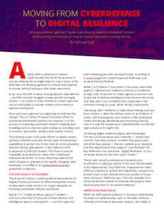 FedScoop report on cyberdefense