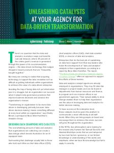 FedScoop report on data-driven IT modernization