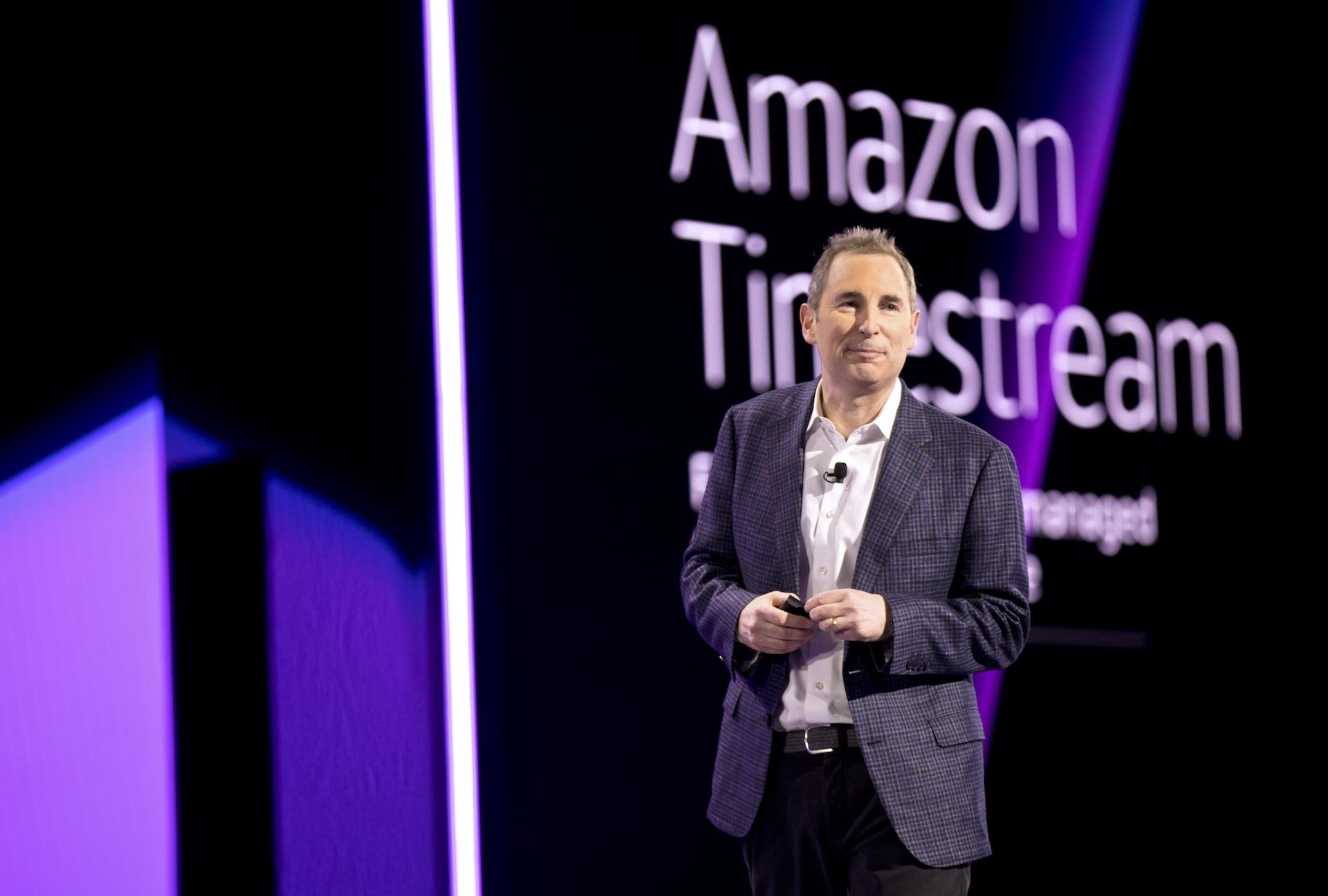 Andy Jassy Keynote at AWS at The Venetian, Las Vegas, NV on Wednesday, Nov. 28, 2018.