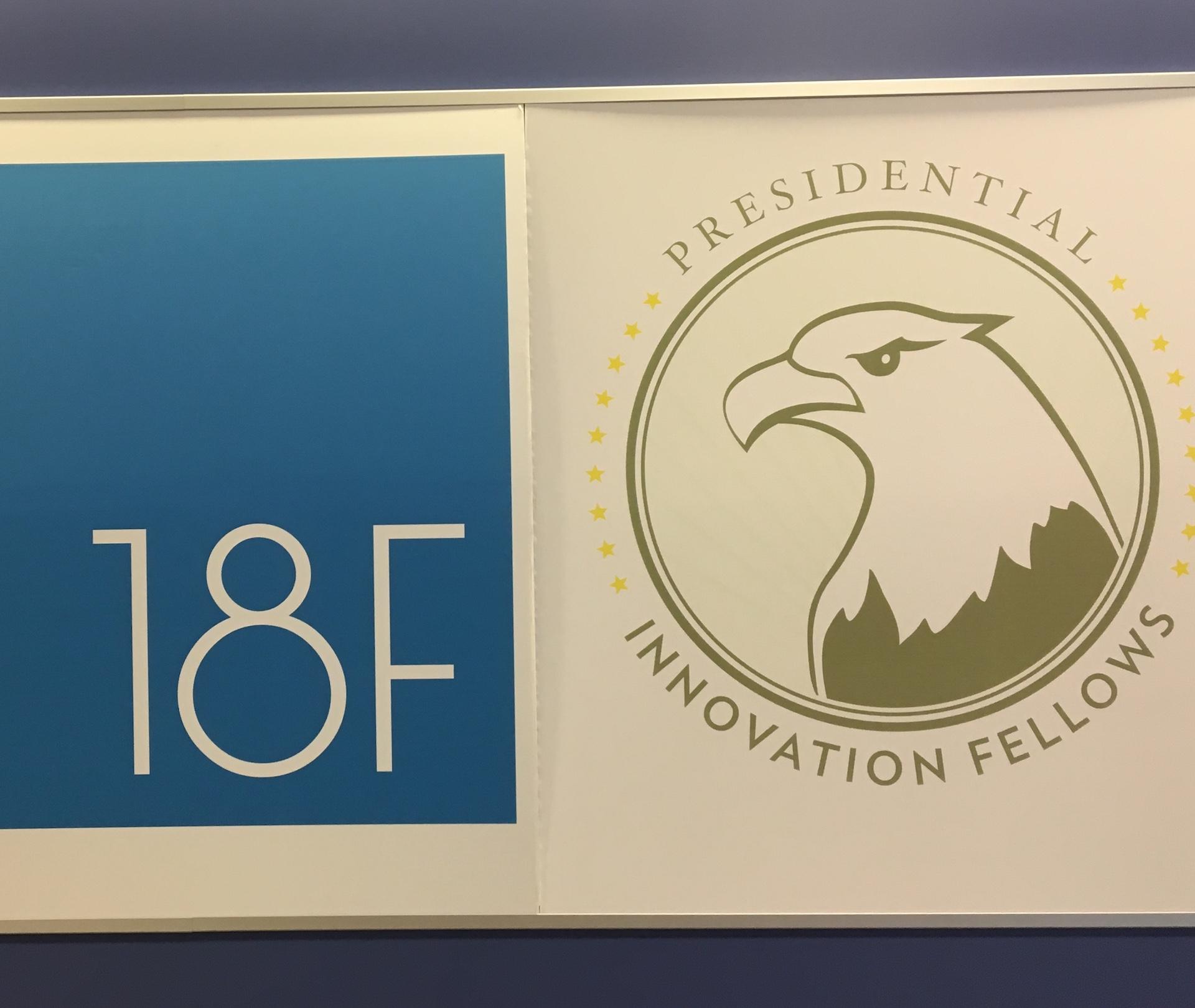 PIF, Presidential Innovation Fellows, 18F