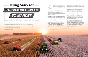 FedScoop special report on software as a service technology at the USDA