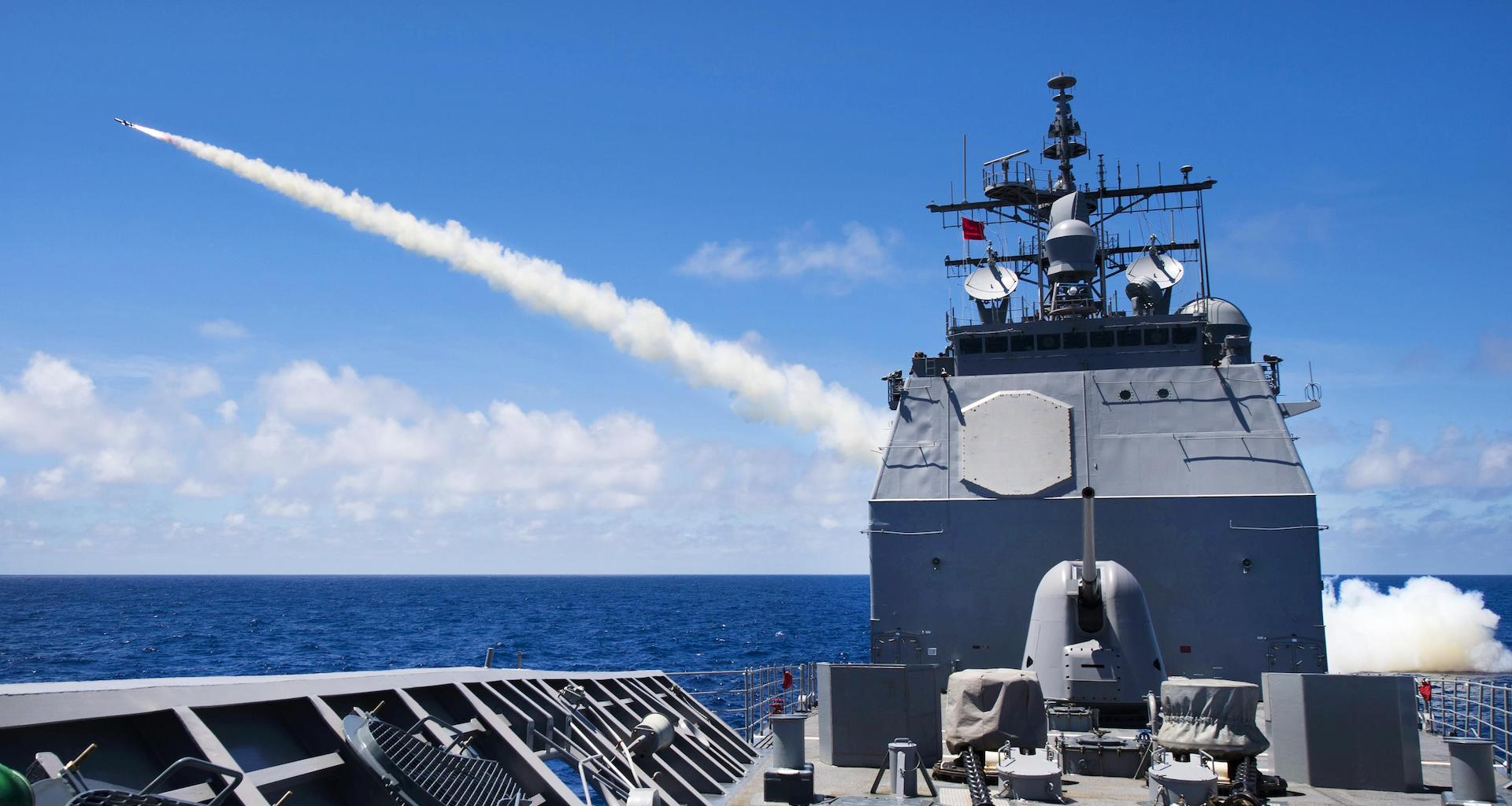 USS Princeton, missile, weapons